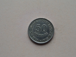 1948 ANGOLA - 50 Centavos ( KM 72 ) Uncleaned ! - Angola