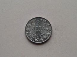 1925 - 2 Leva ( KM 38 ) Uncleaned ! - Bulgarie