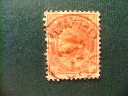 CANADA 1897 - 98 Reine Victoria Queen Victoria Yvert 60 FU Defect - Usados