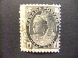 CANADA 1898 - 03 Reine Victoria Queen Victoria Yvert 62 FU - Usados