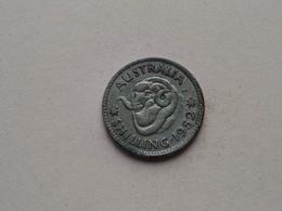 1952 - Shilling ( KM 46 ) Uncleaned ! - Monnaie Pré-décimale (1910-1965)