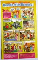 PLAQUETTE BD BANANIA ET LES ROMAINS CHOCOLAT POUDRE - Books, Magazines, Comics