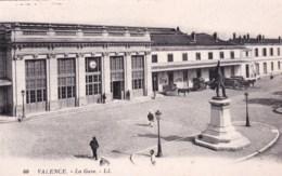 26 - Drome -  VALENCE - La Gare - Valence