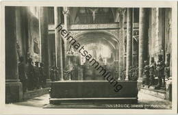 Innsbruck - Hofkirche - Foto-AK - Verlag Wilhelm Stempfle Innsbruck - Kirchen U. Kathedralen
