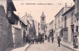 78 - Yvelines - HOUILLES - La Rue De L église - Belle Animation - Houilles