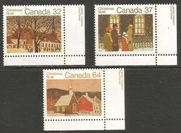 Canada - 1983 Churches MNH **   Sc 1004-6 - 1952-.... Reign Of Elizabeth II