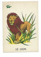 Le Lion Chromo Image Carte à Jouer 105 X 73 Mm Bien 2 Scans - Vieux Papiers
