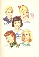 Puck, écolière - Lisbeth Werner - Bibliothèque Rouge Et Or - Ed. GP 1961 - Bibliothèque Rouge Et Or