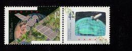 675480931 CANADA 1992  POSTFRIS MINT NEVER HINGED POSTFRISCH EINWANDFREI SCOTT 1442A CANADA IN SPACE - 1952-.... Règne D'Elizabeth II