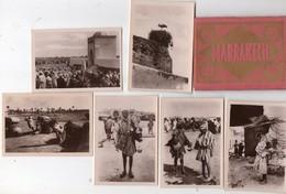 MAROC - MARRAKECH ( Pochette De 12 Photos ) - Dépliants Touristiques