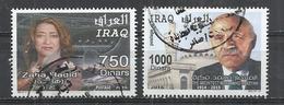 IRAQ 2016 - ARCHITECTS - CPL. SET - POSTALLY USED OBLITERE GESTEMPELT USADO - Iraq