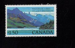 675482938 CANADA 1982  POSTFRIS MINT NEVER HINGED POSTFRISCH EINWANDFREI SCOTT 935 WATERTON LAKES NATIONAL PARK - 1952-.... Règne D'Elizabeth II