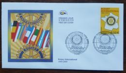 FDC 2005 - YT N°3750 - ROTARY INTERNATIONAL - PARIS - 2000-2009
