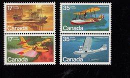675484033 CANADA 1979  POSTFRIS MINT NEVER HINGED POSTFRISCH EINWANDFREI SCOTT 844A 846A AIRPLANES LANDING ON WATER - 1952-.... Règne D'Elizabeth II