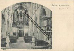 Salem - Klosterkirche - Orgel - Verlag Gebrüder Metz Tübingen - Kirchen U. Kathedralen