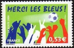 France N° 3936  A ** Merci Les Bleus - Nuevos