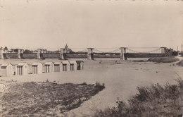 Cpa 2 Scans JARGEAU Photographie Le Pont Et La Plage 1 - Autres Communes