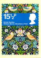 GRANDE-BRETAGNE. N°1052-5 De 1982 Sur 4 Cartes Premier Jour. Textile. - Textile