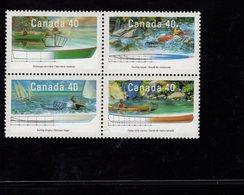675487018 CANADA 1991  POSTFRIS MINT NEVER HINGED POSTFRISCH EINWANDFREI SCOTT 1320A SMALL CRAFT TYPE BOATS - 1952-.... Règne D'Elizabeth II