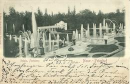 "1873 "" PALAIS,FONTAINES - NOUV - PETERHOF ""  CARTOLINA POSTALE ORIGINALE SPEDITA - Russia"