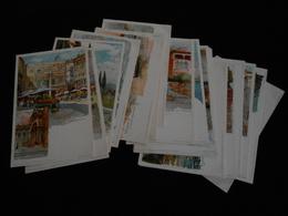 Lot De 20 Cpa Illustrateur Manuel Wielandt Venezia Verona Pegli Torcello Isola Lecchi Murano Etc..  YN21 - Wielandt, Manuel
