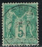 FRANCE : N° 75 Oblitéré (Type Sage) - PRIX FIXE : 1/3 De La Cote - - 1876-1898 Sage (Tipo II)