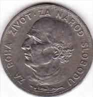 Slowakei-SLOVAKIA. 5 Kronen- KORUN - Coronas 1939, Nickel, Andrej Hlinka - Slowakei
