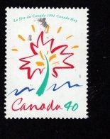 675487852 CANADA 1991  POSTFRIS MINT NEVER HINGED POSTFRISCH EINWANDFREI SCOTT 1316 CANADA DAY - 1952-.... Règne D'Elizabeth II