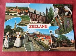 Nederland. Pays-Bas. Holland. Zeeland Klederdracht - Kostums