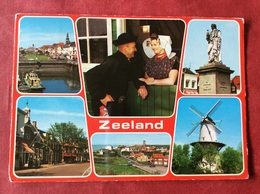 Nederland. Pays-Bas. Holland. Zeeland ( Klederdracht Molen ) - Kostums