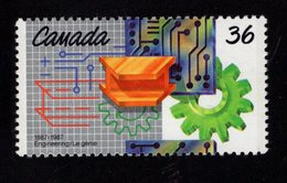 675489859 CANADA 1987  POSTFRIS MINT NEVER HINGED POSTFRISCH EINWANDFREI SCOTT 1134 ENGINEERING INSTITUE OF CANADA CENT - 1952-.... Règne D'Elizabeth II