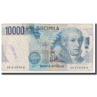 Billet, Italie, 10,000 Lire, 1984, 1984-09-03, KM:112b, TB - [ 2] 1946-… : République