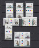 AAT 1979/1980 Definitives / Ships 8v Gutter ** Mnh (41389) - Ongebruikt