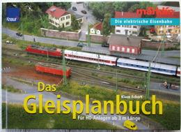 MÄRKLIN Gleisplanbuch H0 Anlagen Ab 3 M Klaus Eckert 07459 - Books And Magazines