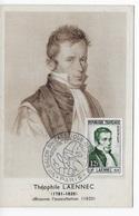 Carte Maximum 1952  Laennec - 1950-59