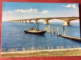 Nederland. Pays-Bas. Holland. Zeelandbrug ( Brug Pont Bridge Boot Bateau Boat ) - Brücken