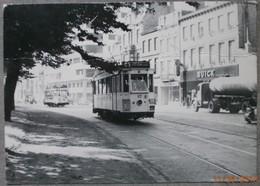 Tule-Liège 1956 . - Tramways