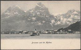 Brunnen Und Die Mythen, Schwyz, C.1905-10 - AK - SZ Schwyz