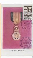 Carte Maximum 1952 Médaille Militaire - Cartes-Maximum