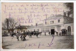 Cpa Carte Postale Ancienne  - Vierzon La Gare - Vierzon
