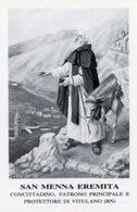 Vitulano BN - Santino Grande SAN MENNA EREMITA Protettore E Patrono Principale - PERFETTO P84 - Religione & Esoterismo