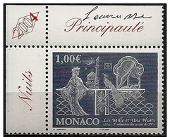 Monaco: Le Mille E Una Notte, Mille Et Une Nuits, One Thousand And One Nights, Firmato Dall'incisore, Signed By The Engr - Fiabe, Racconti Popolari & Leggende