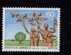 675496051 JAPAN 1983 POSTFRIS MINT NEVER HINGED POSTFRISCH EINWANDFREI SCOTT 1552 SHOWA MEMORIAL NATL PARK OPENING - 1926-89 Empereur Hirohito (Ere Showa)