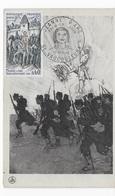 Carte Maximum 1968 Jeanne D'Arc - Cartes-Maximum