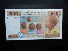 GUINÉE ÉQUATORIALE : 500 FRANCS  2002   P 506F     NEUF - Guinée Equatoriale