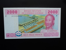 GUINÉE ÉQUATORIALE : 2000 FRANCS  2002   P 508F     NEUF - Guinée Equatoriale