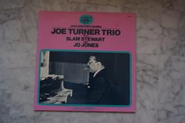 JOE TURNER TRIO WITH SLAM STEWART AND JO JONES LP 19? VALEUR +  LABEL BLACK AND BLUE - Jazz