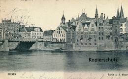 AK Bremen, Partie An Der Weser - Bremen