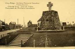 Vimy Ridge Artillery Memorial Canadian Côte De Vimy Coin De Thélus - France