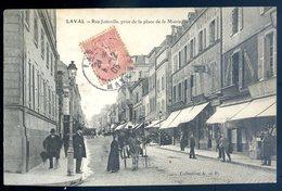 Cpa Du 53  Laval Rue Joinville , Prise De La Place De La Mairie  YN18 - Laval